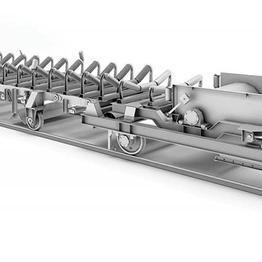 Конвейер стакер радиально поворотный конвейера воздушные