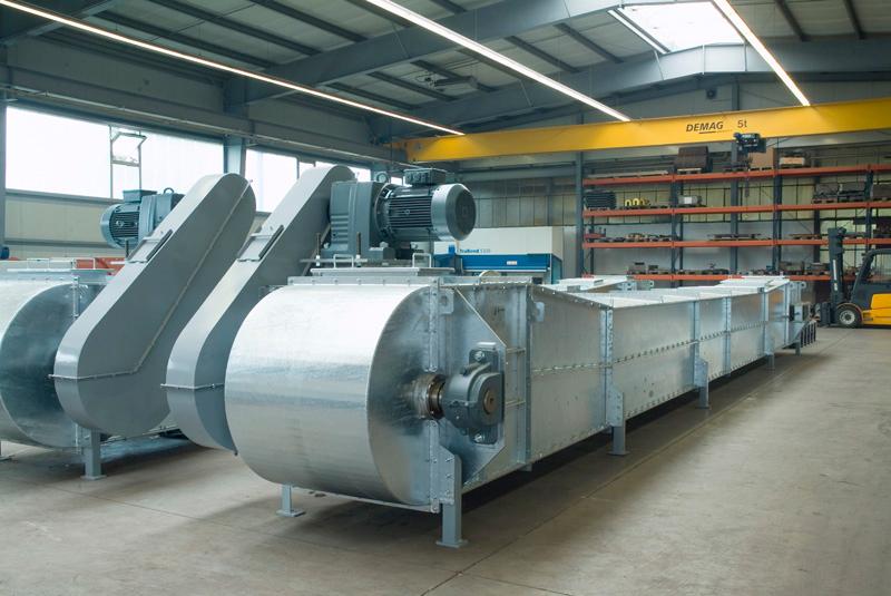 Цепные конвейеры с погруженными скребками конвейер ленточный на авито
